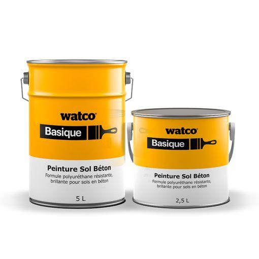 Peinture Sol Béton - peinture polyuréthane monocomposante