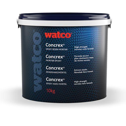 Concrex® Spécial Acide 10 kg  - mortier réparation époxy haute résistance chimique image 1