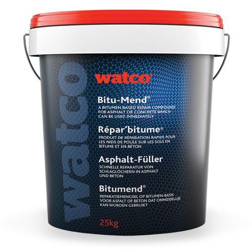 """""""Seau de 25 kg de Watco Répar'bitume, enrobé à froid pour la réparation instantanée des trous dans le bitume"""""""