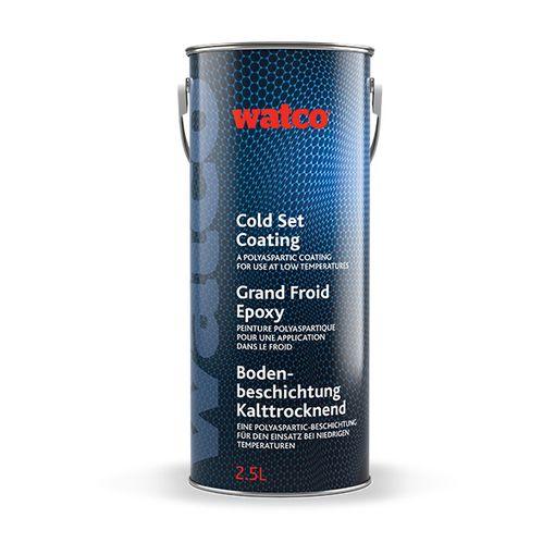 """""""Bidon de 2,5 L de Watco Grand Froid Epoxy, peinture de sol qui peut durcir à basse température"""""""